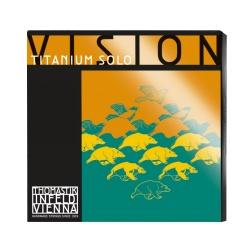 THOMASTIK Vision Titanium Solo struny do skrzypiec 4/4 E A D G