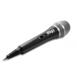 Ik-Multimedia Irig MIC Mikrofon pojemnościowy do iPhone, iPad, iPod Touch Mac oraz Android
