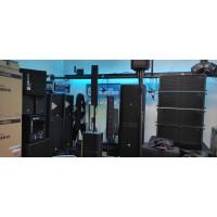 Sprzęt nagłośnieniowy i akustyczny estradowy profesjonalny